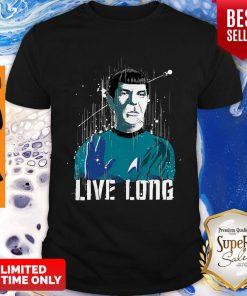 Awesome Star Trek Spock Live Long T-Shirt