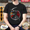Nice Raven Skull Death Vintage Shirt