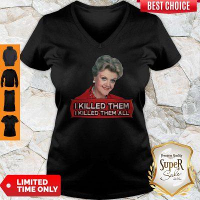 Premium Angela Lansbury I Killed Them All V-neck
