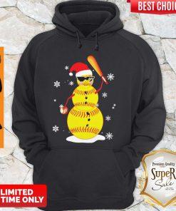 Top Christmas Baseball Player Santa Softball Lover Hoodie