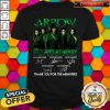 Arrow 08th Anniversary 2012 2020 08 Seasons 162 Episodes Thank You For The Memories Signatures Shirt