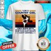 Cow I Am A Country Girl I Was Born With My Heart On My Sleeve A Fire Vintage Shirt