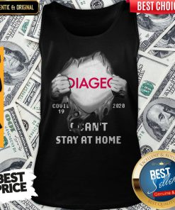 Hot Blood Inside Me Diageo Covid 19 2020 I Cant Stay At Home Tank Top