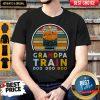 Nice Vintage Grumpy Train Bnsf Doo Doo Doo Shirt