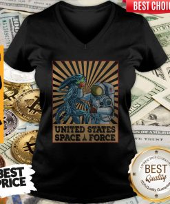 Premium United States Space Force Punch Et V-neck
