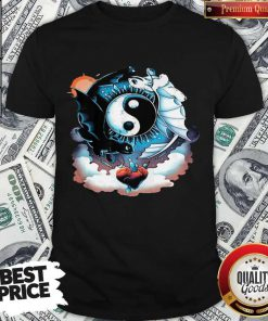 Awesome Toothless Dragon And His Girlfriend Heart Moon Shirt