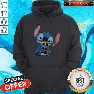 Baby Stitch Hug Baby Jack Skellington LGBT Hoodie