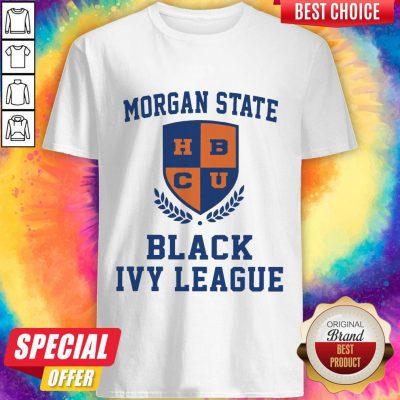 Hot Morgan State HBCU Black Ivy League Halloween Shirt