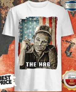 Hot The Hag Smoking American Flag Independence Day Shirt