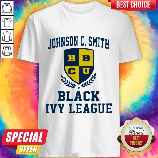 Johnson C.Smith HBCU Black Ivy League Halloween Shirt