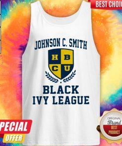 Johnson C.Smith HBCU Black Ivy League Halloween Tank Top
