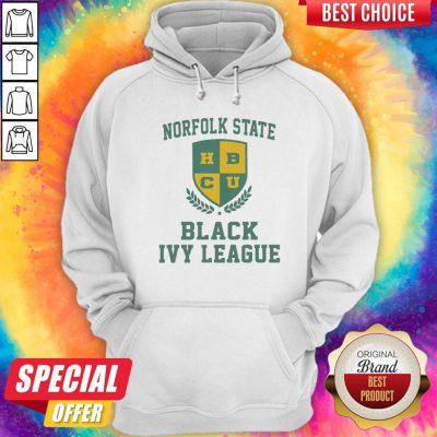 Norfolk State HBCU Black Ivy League Halloween Hoodie