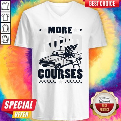 Official More Road Courses V-neck