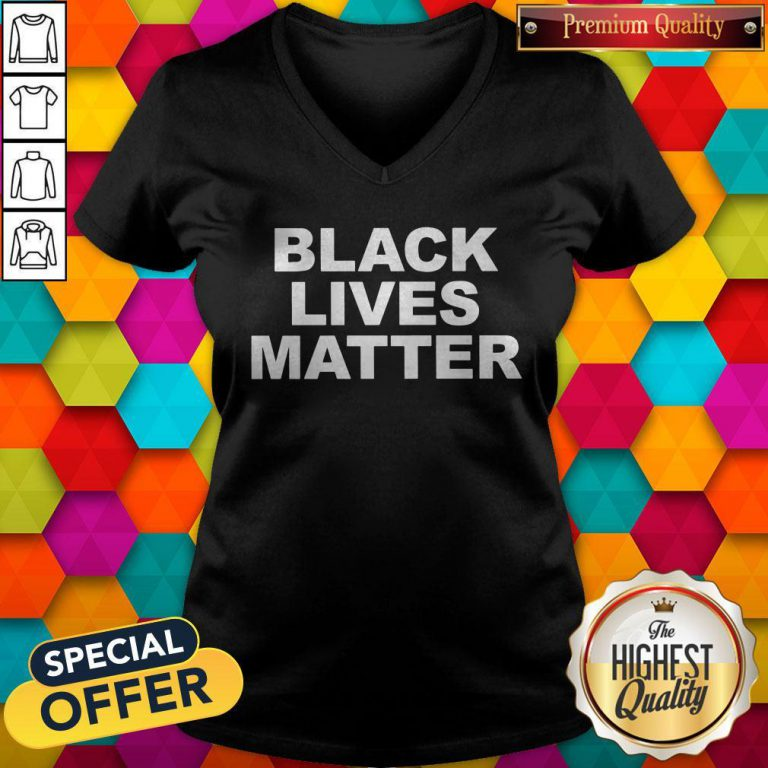 Original Black Lives Matters Tee Halloween V-neck