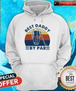 Original Golf Best Daddy By Par Vintage Retro Hoodie