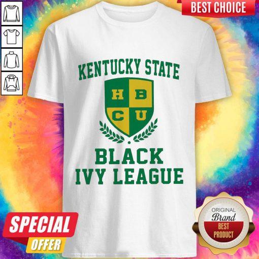 Original Kentucky State HBCU Black Ivy League Halloween Shirt