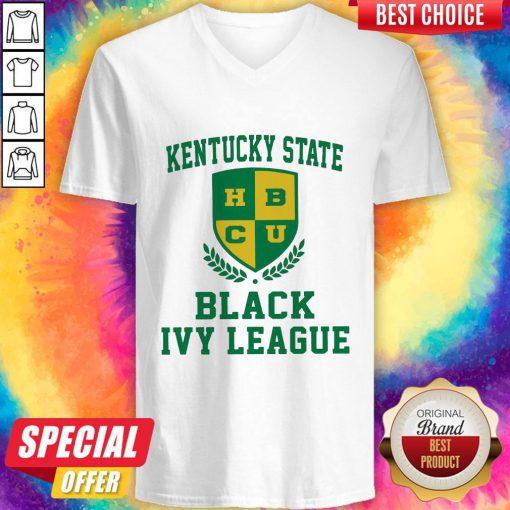 Original Kentucky State HBCU Black Ivy League Halloween V-neck
