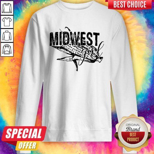 Premium Midwest Girl Sweatshirt