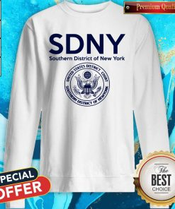 SDNY Southern District Of New York Resistance Sweatshirt