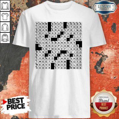 Stuffed Shirt Crossword Clue Classic T-Shirt