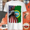 Top Washington American Flag Cross Happy Independence Day Shirt