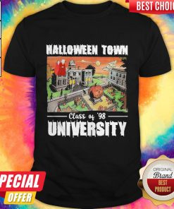 Halloween Town Class Of 98 University Official Top Shirt