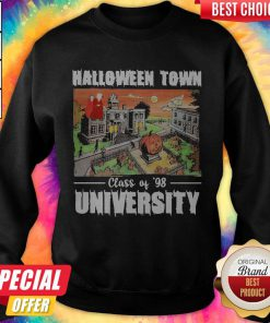 Halloween Town Class Of 98 University Official Top SweatShirt
