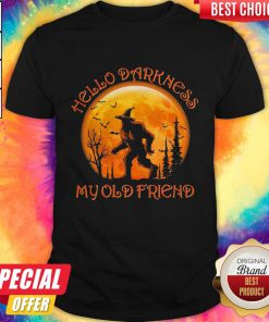 Hello Darkness My Old Friend Halloween Premium Perfect Shirt