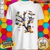 Owl Pumpkin Tree Halloween Premium Official Top Shirt