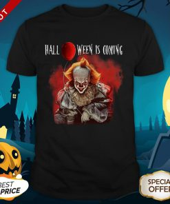 Pennywise Halloween Is Coming Premium Official Shirt
