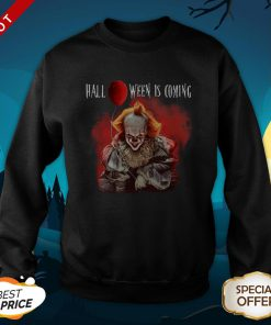 Pennywise Halloween Is Coming Premium Official SweatShirt