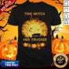 Beautiful This Witch Loves Her Trucker Shirt