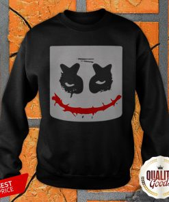 Funny Scary Joker Face Halloween Costume SweatShirt