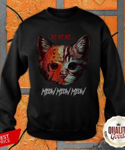 Jason Ki Ki Ki Meow Meow Cat Halloween SweatShirt
