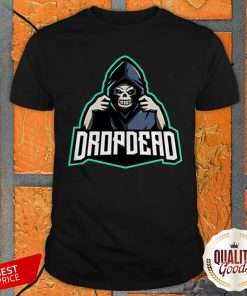 Official Drop Dead Halloween Shirt