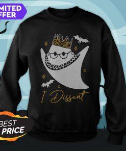 Official RBG In Dissent Halloween Sweatshirt
