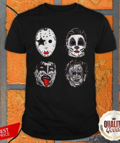 Perfect Horror Movie Character Faces Halloween Shirt