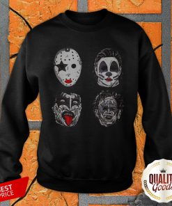 Perfect Horror Movie Character Faces Halloween SweatShirt