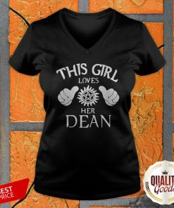 Premium This Girl Loves Her Dean V-neck