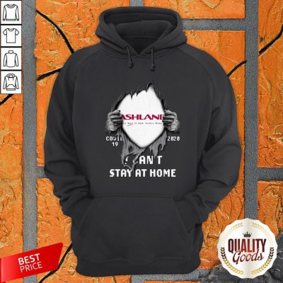 Vip Blood Inside Me Ashland Covid 19 2020 I Can't Stay At Home Hoodie