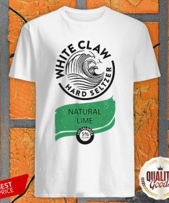 White Claw Halloween Costume Natural Lime Shirt