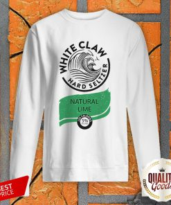 White Claw Halloween Costume Natural Lime SweatShirt