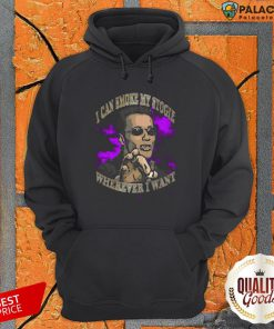Arnold Schwarzenegger I Can Smoke My Stogie Wherever I Want Hoodie