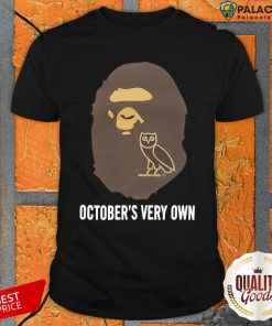 BAPE x OVO October's Very BAPE x OVO October's Very Own ShirtOwn Shirt