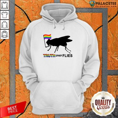 Lgbt Truth Over Flies Funny Donald Trump President 2020 Vote T-Hoodie