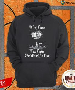 Official I'm Fine Cat I'm Fine Everything's Fine Hoodie