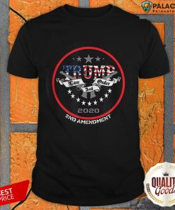 Trump 2020 Law And Order 2nd Amendment Shirt