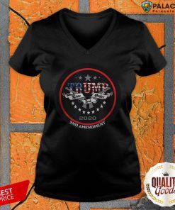Trump 2020 Law And Order 2nd Amendment V-neck