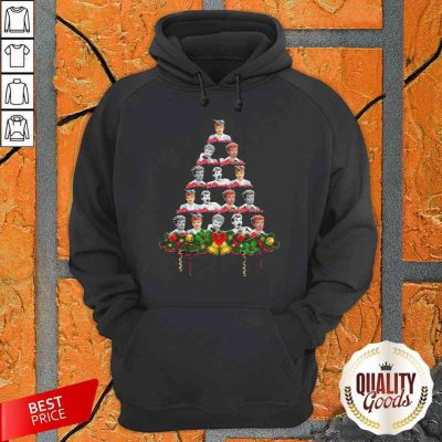 Awesome Lucille Ball Christmas Tree Hoodie-Design By Palacetee.com