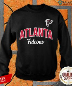Nfl Atlanta Falcons Logo In The Game Sweatshirt-Design By Palacetee.com